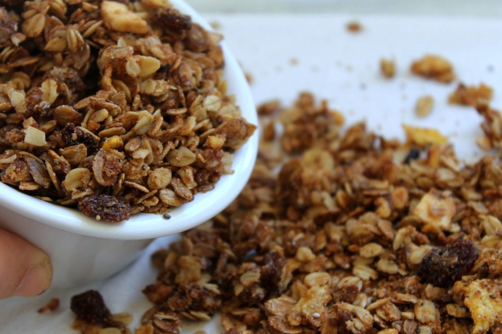 granola-no-sugar